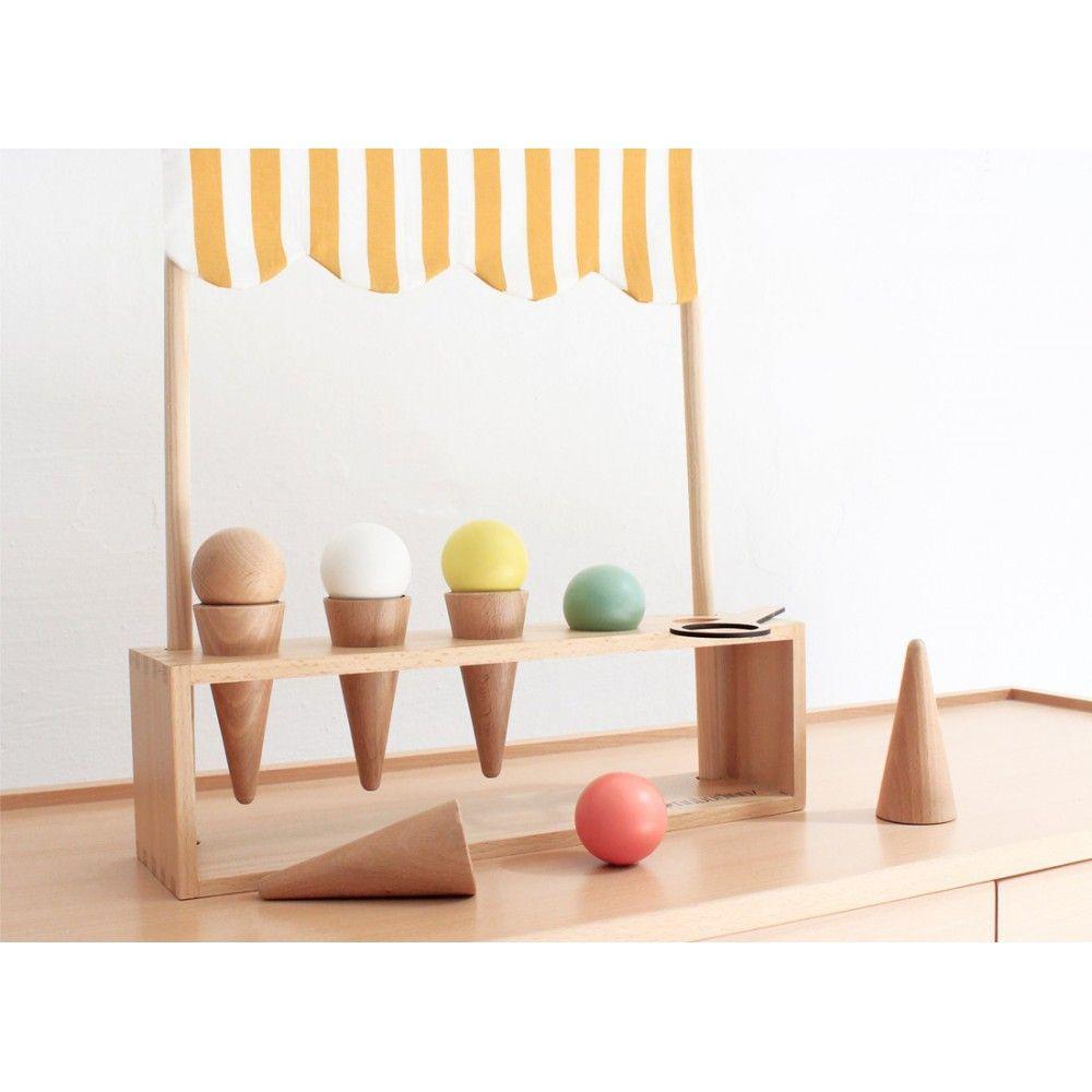 jeu de glacier en bois | {baby & kids fashion} | wooden toys