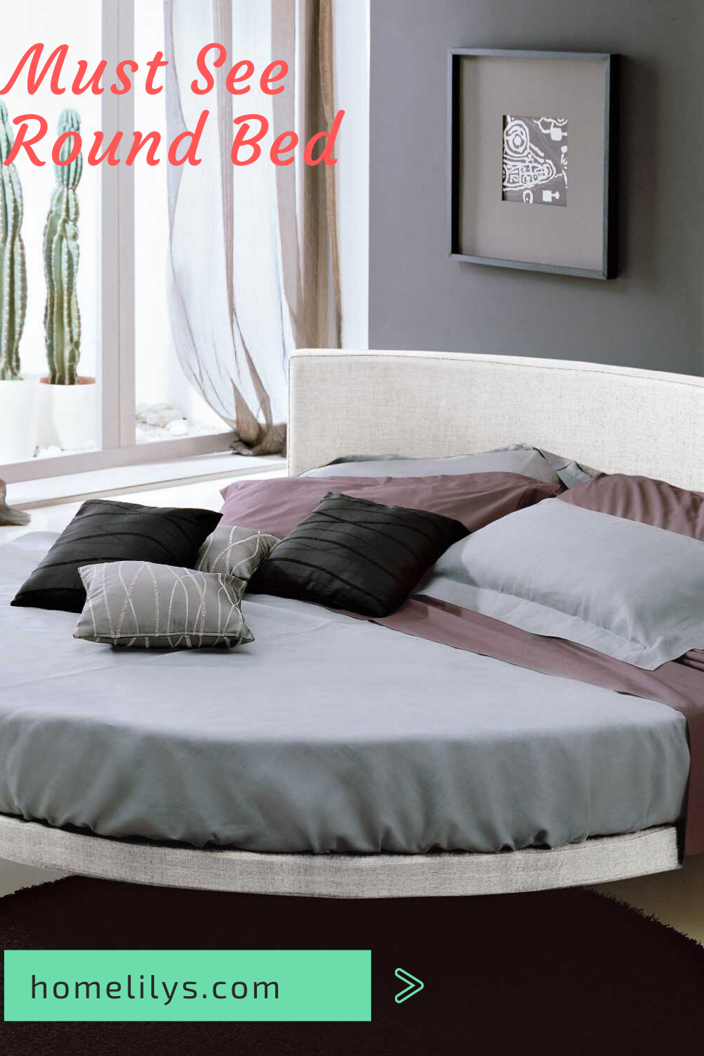 14 Modern Round Beds For Your Home In 2020 You Can Buy Now In 2020 Round Beds Home Decor Living Room Designs