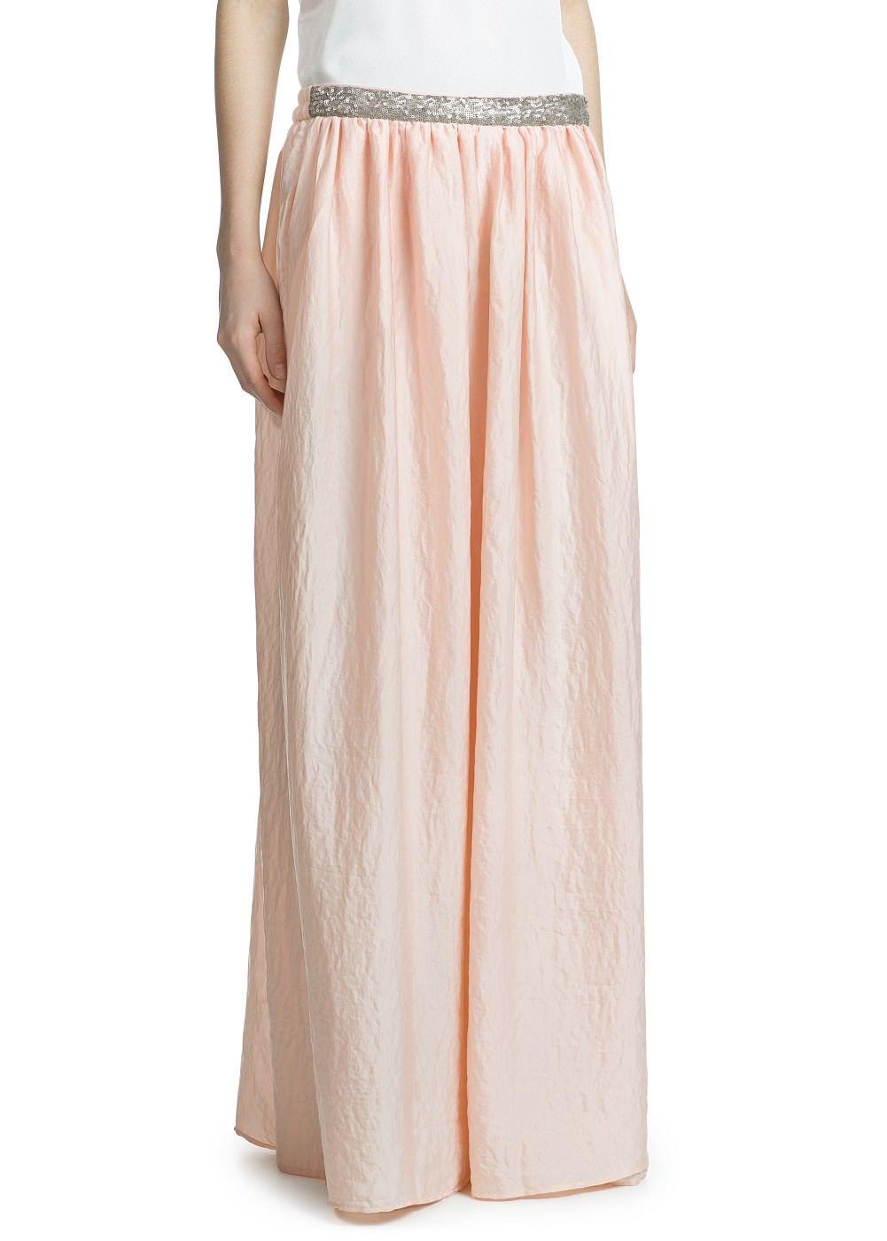 fcd1cd5ddb  falda  larga  satinada  lentejuelas  MANGO 35