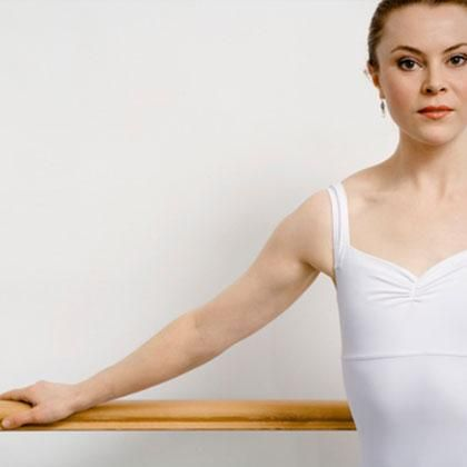 Ballerina Workout: Sculpts lean muscles with ballet-inspired moves you can do at home.