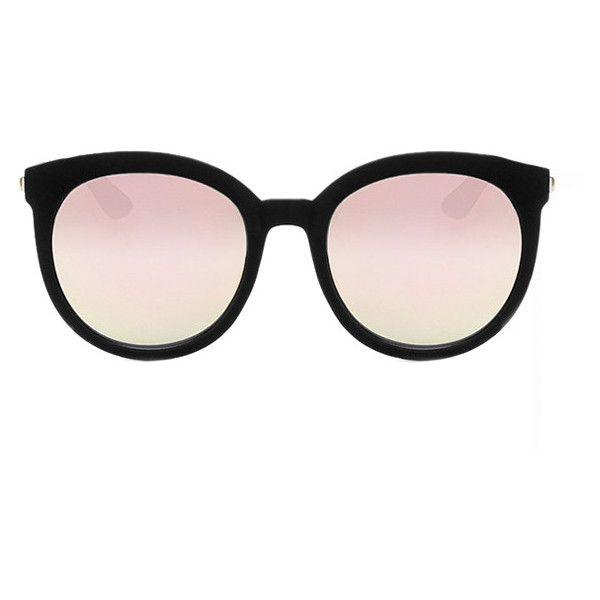 8bcef75928 Quay Australia Quay Jetlag Sunglasses Black (835 MXN) ❤ liked on Polyvore  featuring accessories