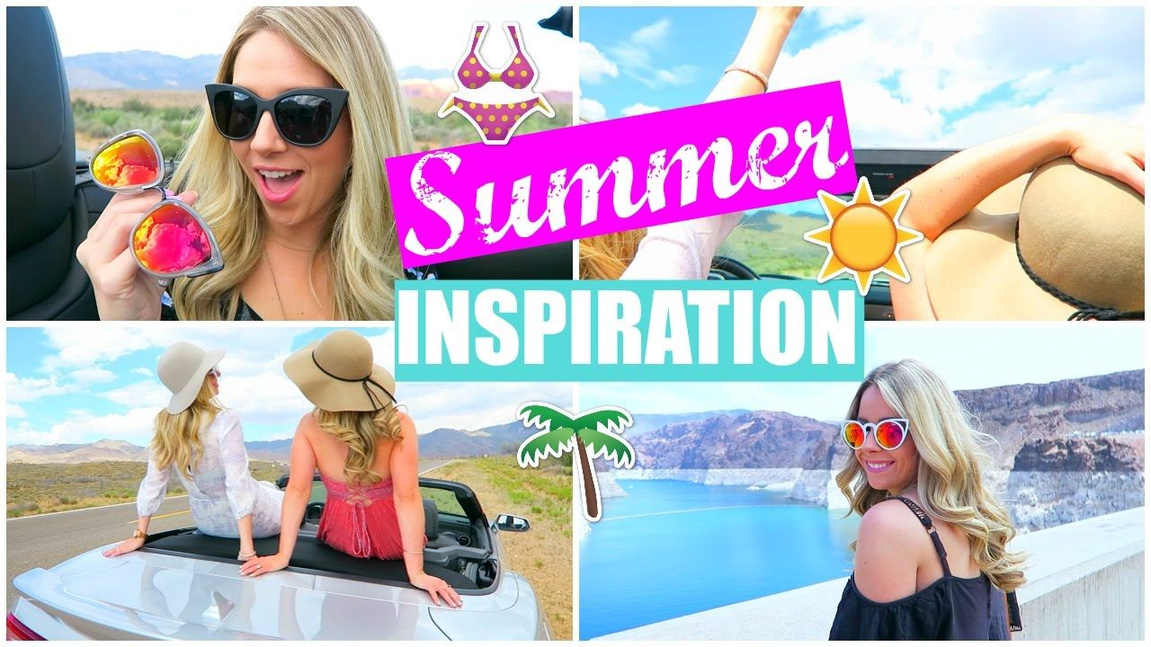 Summer Inspiration! Things to do, Essentials, + Outfit Ideas!