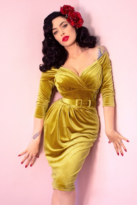 1950s Cocktail Dresses Party Dresses 50s Starlet Pencil Dress In Gold 202 11 At Vintagedancer Com 1950s Cocktail Dress Fashion Vintage Style Dresses [ 1530 x 1020 Pixel ]