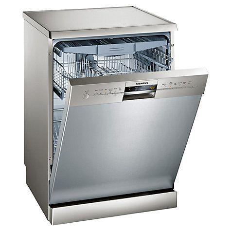 Wonderful Buy Siemens SN26M880GB Freestanding Dishwasher, Stainless Steel Online At  Johnlewis.com