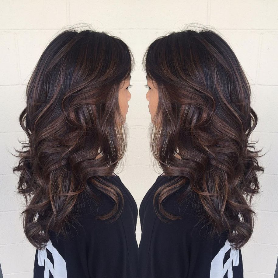 chocolate brown hair color ideas for brunettes in school