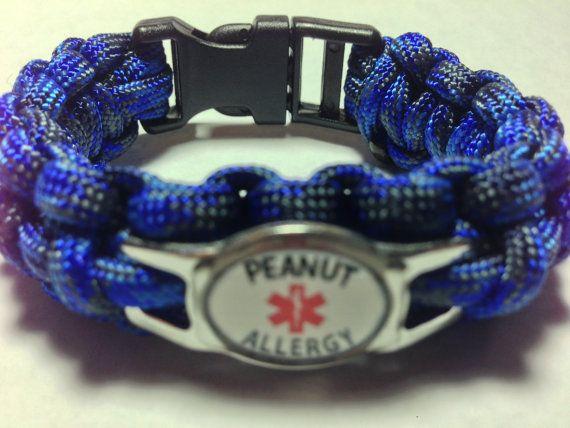 Peanut Allergy Medical Alert Bracelet