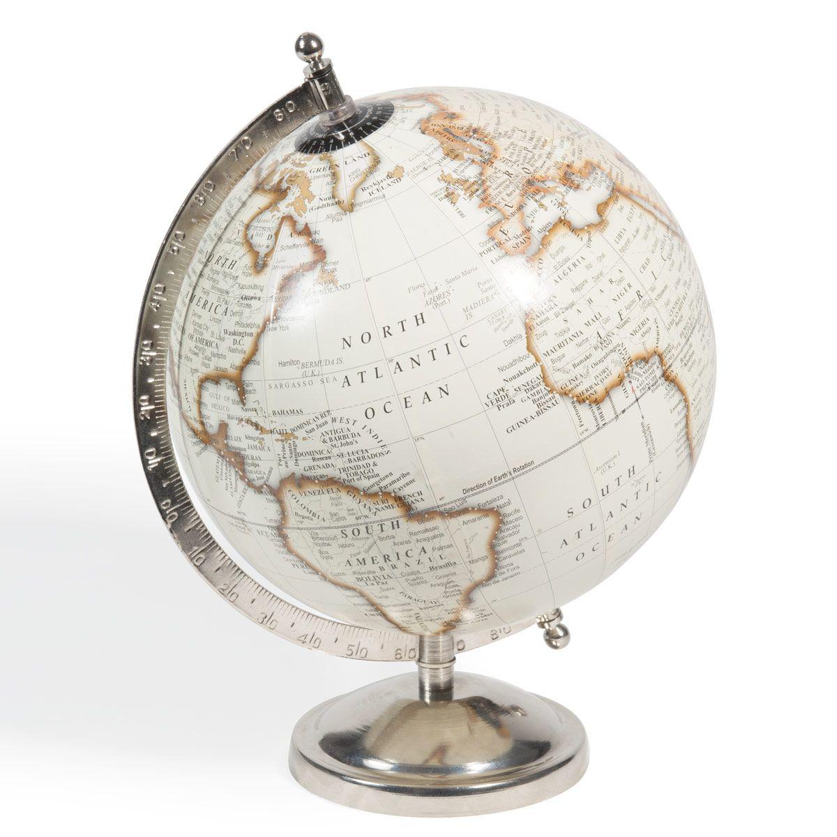 Mappamondo Beige Avec Images Globe Maison Du Monde Maison Du Monde Carte Du Monde