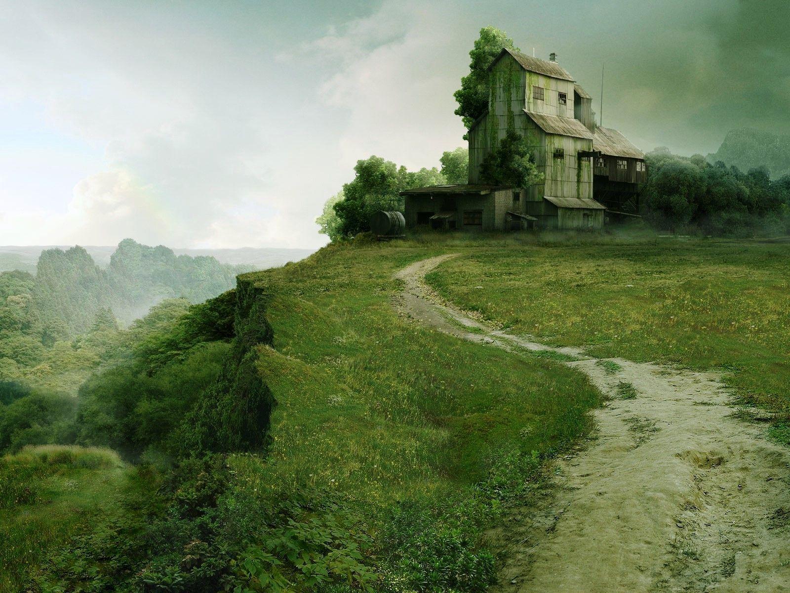 amazing beautiful nature landscape photo for desktop background