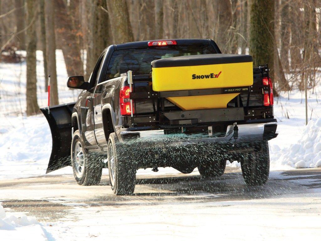 SnowEx streamlines controls of its Bulk Pro spreaders