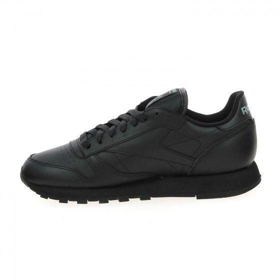 1cb85676713  Bessec Baskets  REEBOK  CLASSIC  LEATHER Noir à 80€ à découvrir tout de  suite sur www.bessec-chaussures.com ou dans nos magasins.