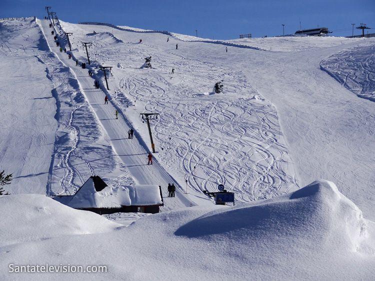 Levi ski resort in Finnish Lapland. More information : www.levi.fi/en/home.html
