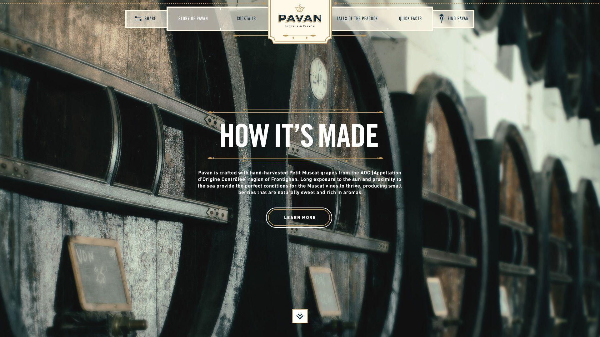 Responsive Website Development Agency Nyc Pavan Liqueur Agency Website Design Website Design Company Agency Website