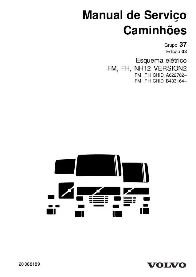 Manual de Serviço Caminhões Grupo 37 Edição 03 Esquema
