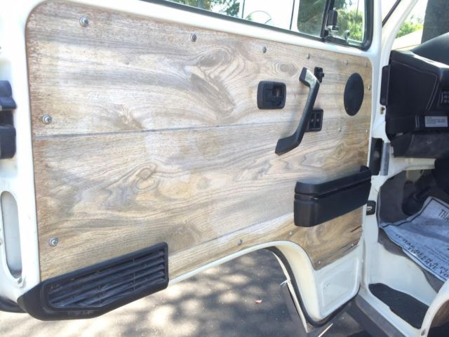 These Wood Door Panels Are On The Same Vanagon We Featured The Other Day This Owner Loved Lights Car Interior Diy Custom Car Interior Volkswagen Bus Interior