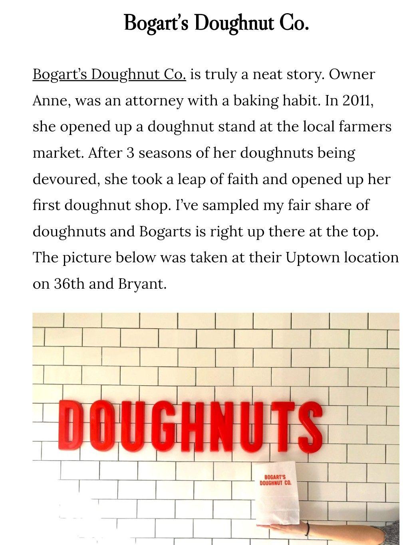Bogarts donuts bogarts donuts doughnut stand local