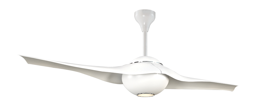 Alpha F180 Ceiling Fan With Remote Control 2 Blades 60 Inch Fan