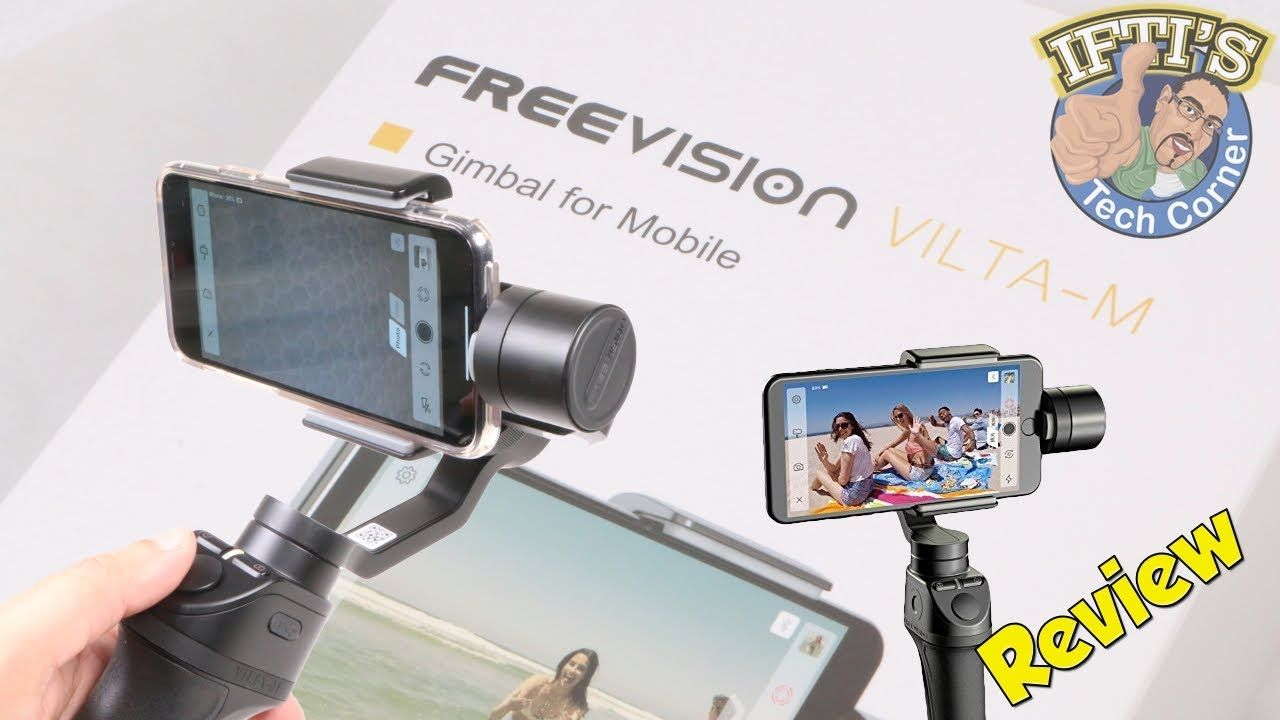 d728bad8f637d5 FreeVision Vilta-M Smartphone Gimbal with Auto Tracking - Better then DJ.