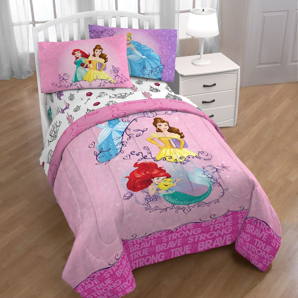 Disney S Princess Friendship Adventures Twin Bedding Set Bed