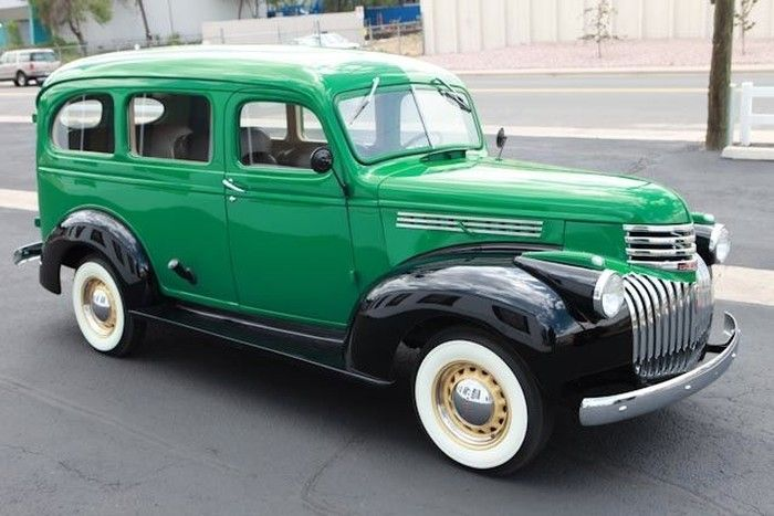 Hemmings Find Of The Day 1946 Chevrolet Suburban Chevrolet
