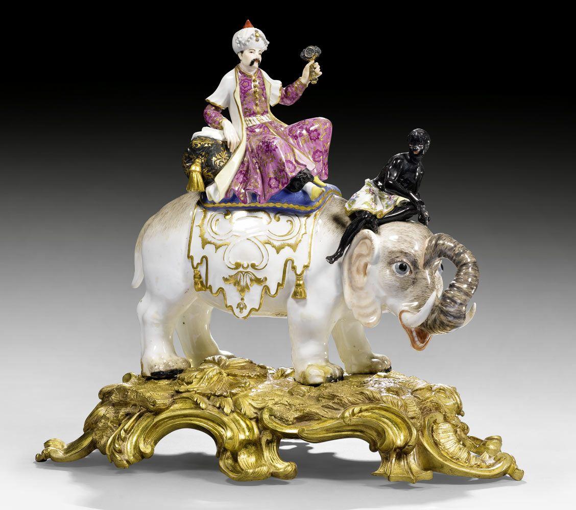 Koller Auktionen Zürich Switzerland Porzellan Fayence Glas Porzellan Auktion Elefanten