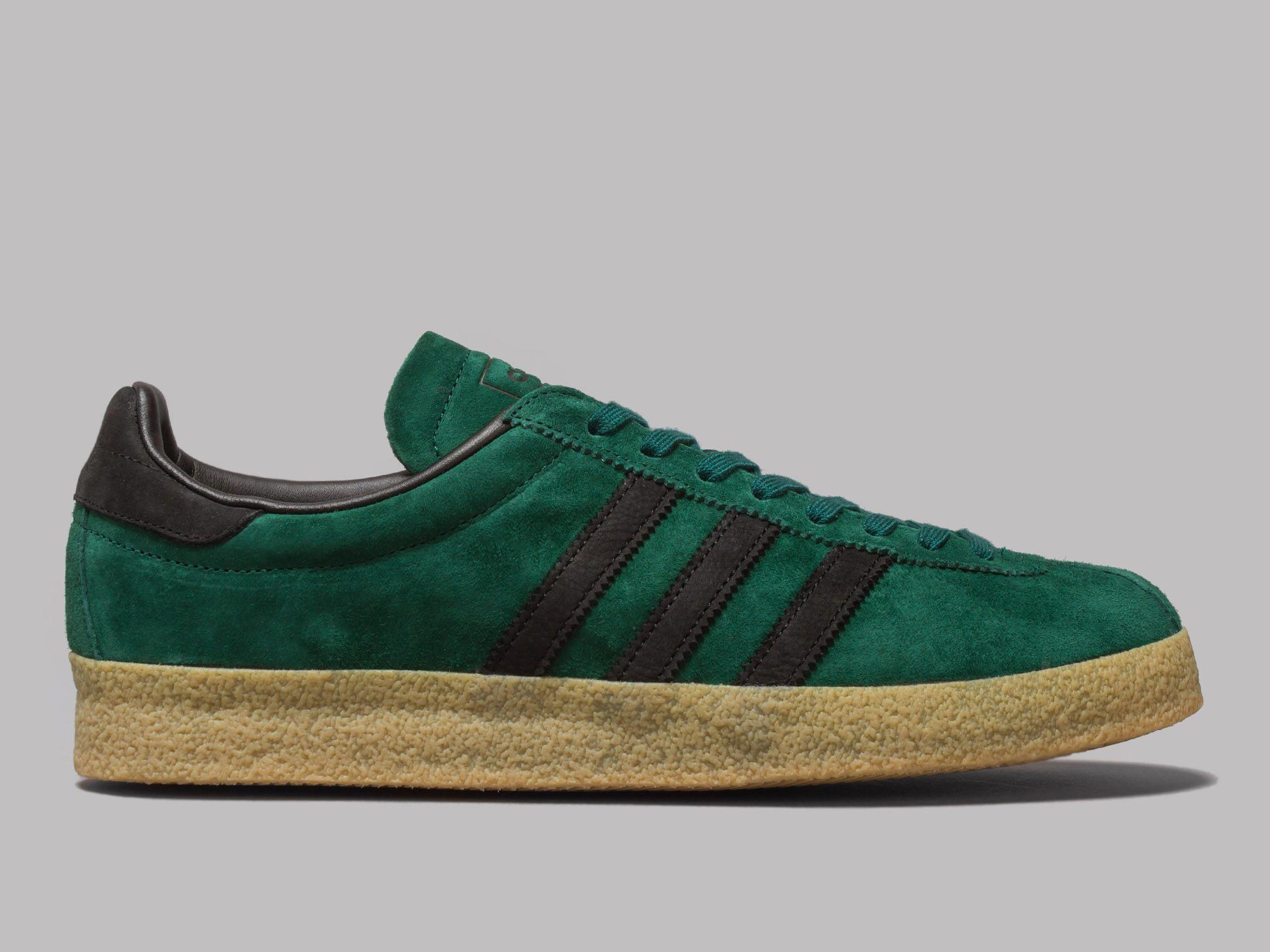 Adidas Topanga (Collegiate Verde / CORE negro / GUM) zapatillas