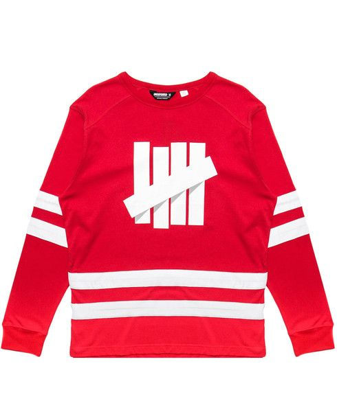 30af8901 UNDEFEATED - BREAKAWAY HOCKEY JERSEY (RED) | New Arrivals - Oct ...