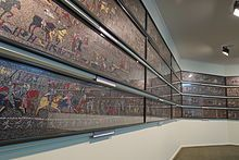 Bayeux Tapestry Wikipedia The Free Encyclopedia Bayeux Tapestry Medieval Tapestry Bayeaux Tapestry