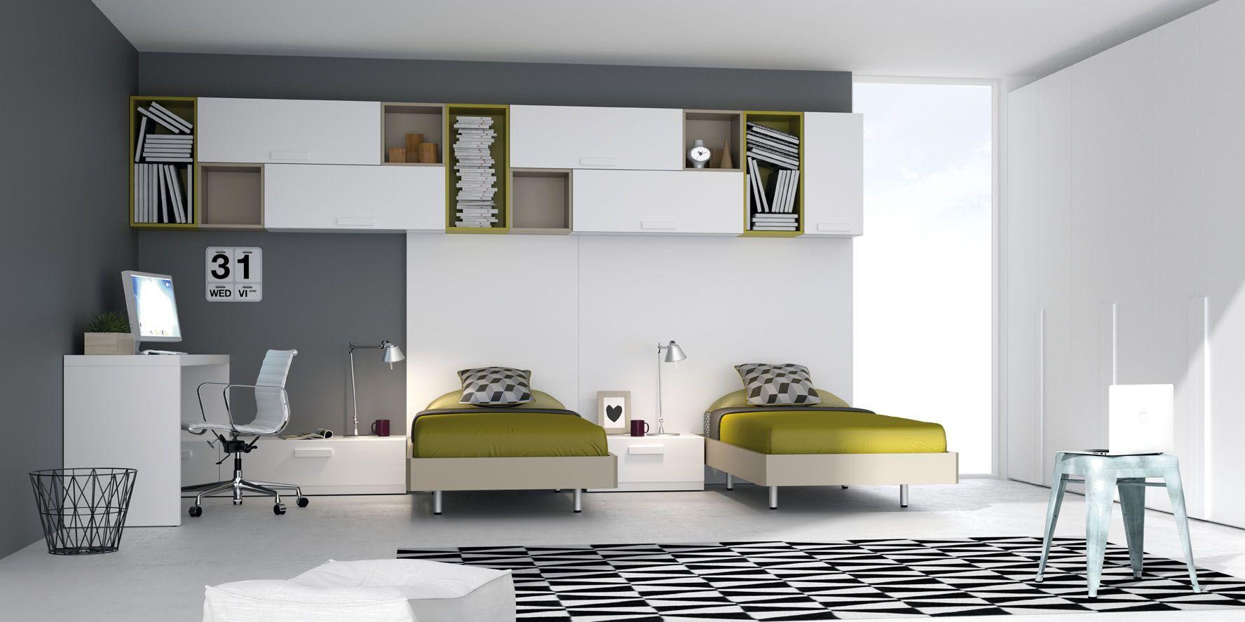 El color de pared los muebles dormitorio pinterest - Disenos de dormitorios juveniles ...
