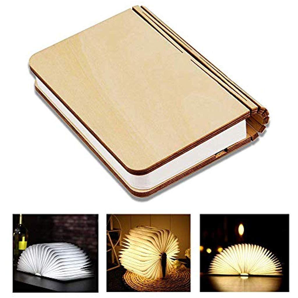 Faltbare Gefuhrte Buchlampe Tisch Schreibtischlampe Aus Holz Zum Lesen Magnetisches Led Licht Mit Wiederaufladbarem Lith Buchlampe Schreibtischlampe Led Licht