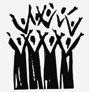 Black Church Clip Art   Choir Praise Clip Art   pics for