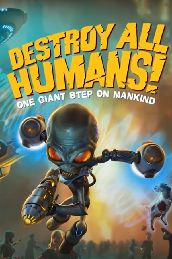 Xbox One Summer Game Fest With Destroy All Humans Demo In 2020 Xbox One Xbox Destroyed