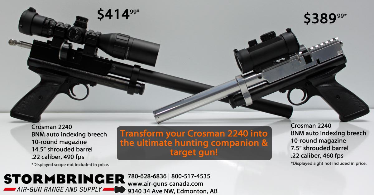The Crosman 2240 is a versatile CO2 powered  22 caliber gun for