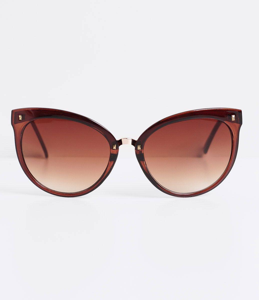 ed031bf783359 Óculos de Sol Feminino Redondo - Lojas Renner