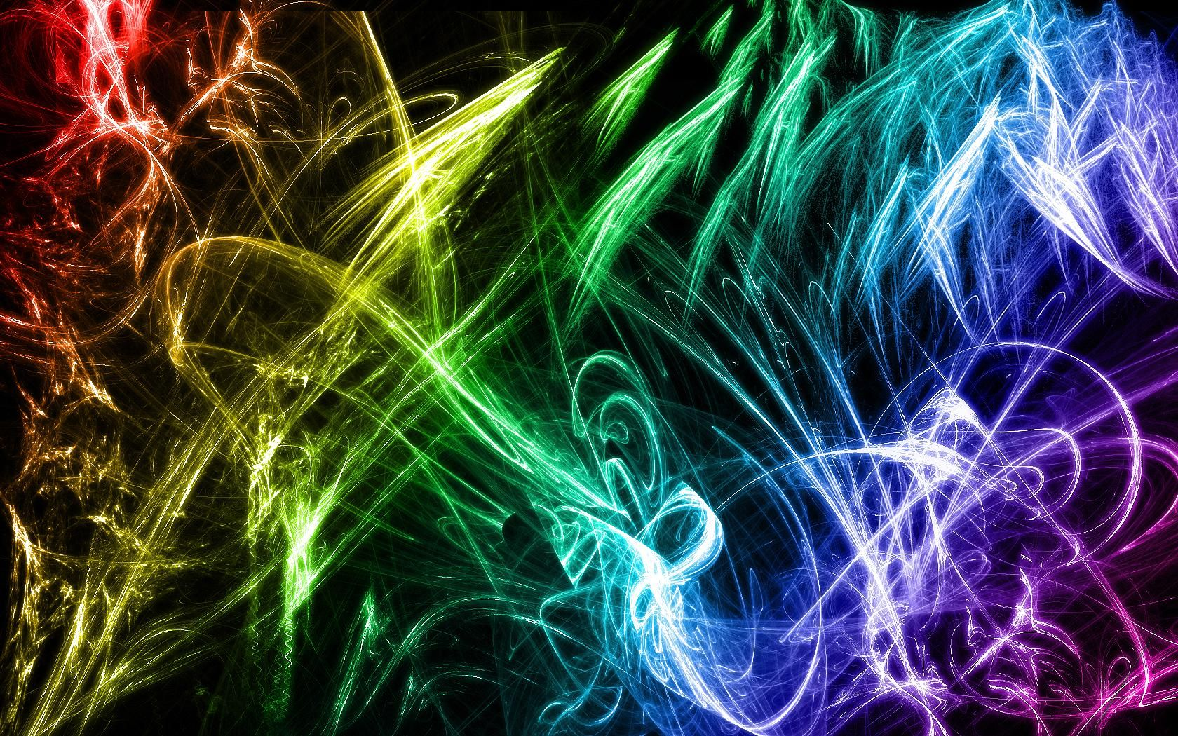 Abstract Explosions Fantasy Art Digital Art Mouse Pad