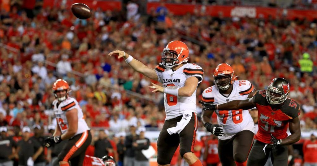 Browns Vs Buccaneers Final Score Cleveland S Offense Non Existent In 13 12 Loss Buccaneers Field Goal Cleveland
