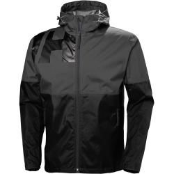 Photo of Helly Hansen Hombres Pursuit Rain Winter Jacket Negro L