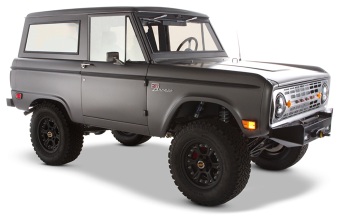 Amazing Combination Of Restoration And Purpose Built Modifications This Is Exactly How I D Do It Well Done With Images Ford Bronco Bronco Classic Bronco