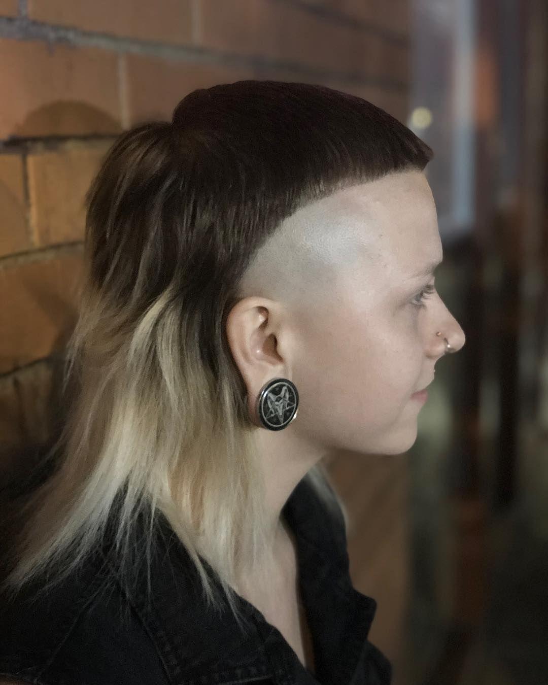 modern mullet girl | radical hairstyles in 2019