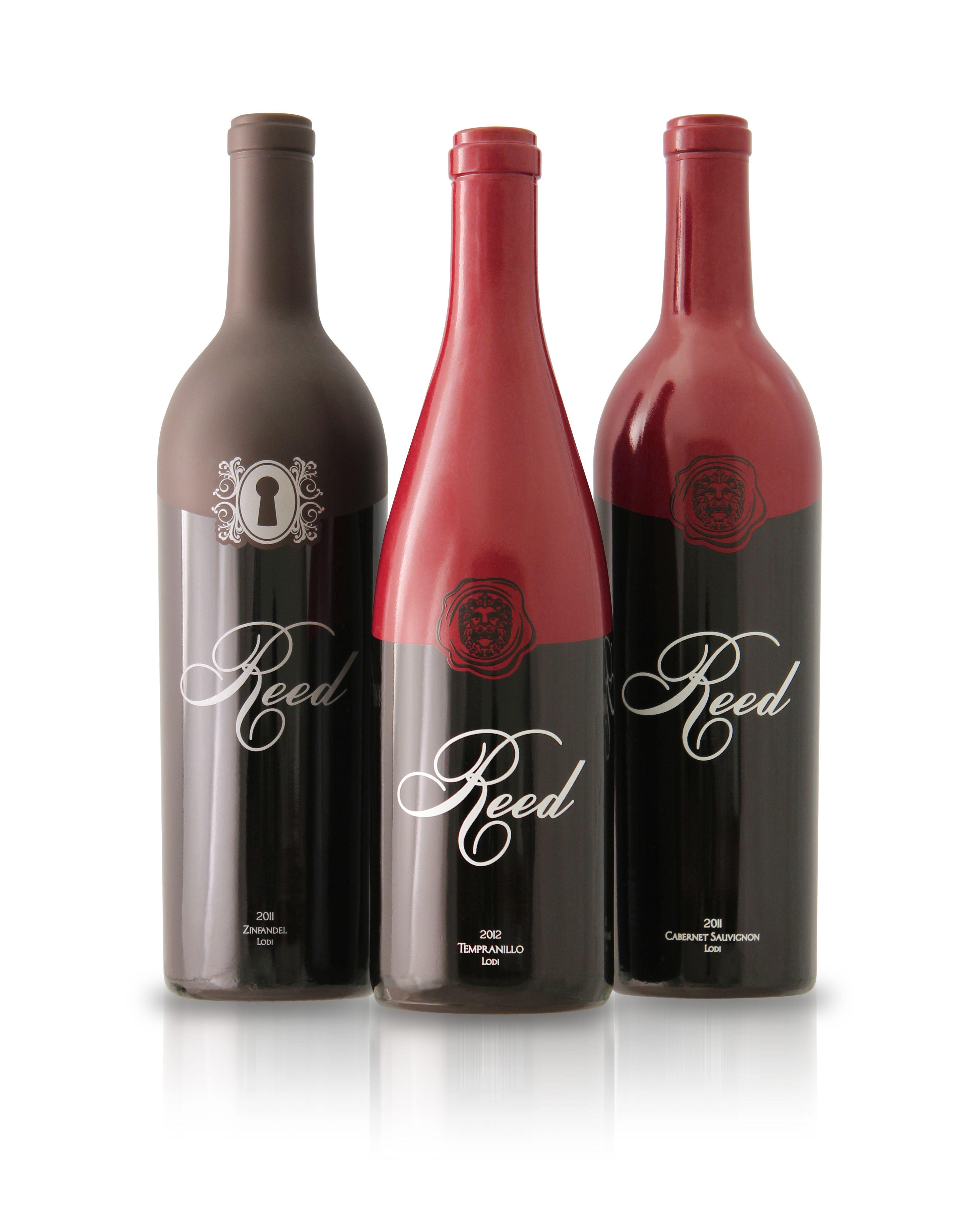 Reed Wine Cellars Wine Bottle Packaging Wine Bottle Bottle