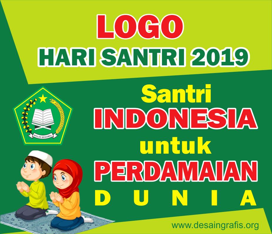 Tema Dan Logo Hari Santri 2019 Cdr Kumpulan Desain Grafis Coreldraw Desain Banner Tanggal Desain Grafis