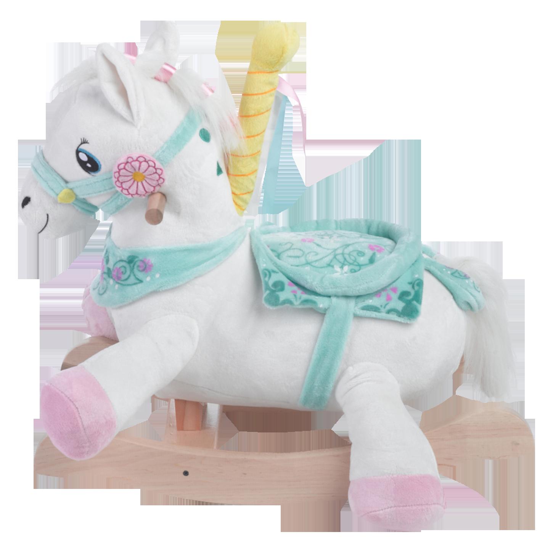 Carousel Horse Rocker   Carousel horses. Rocking toy. Classic rocking horse