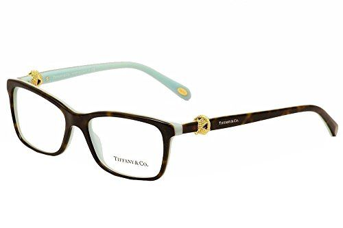 0851b5dcc56 Tiffany   Co Women s Eyeglasses 8134 Havana Blue Full Rim Optical Frame  53mm Tiffany   Co.