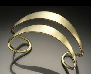 Silver Cuff Created by Stephen LeBlanc