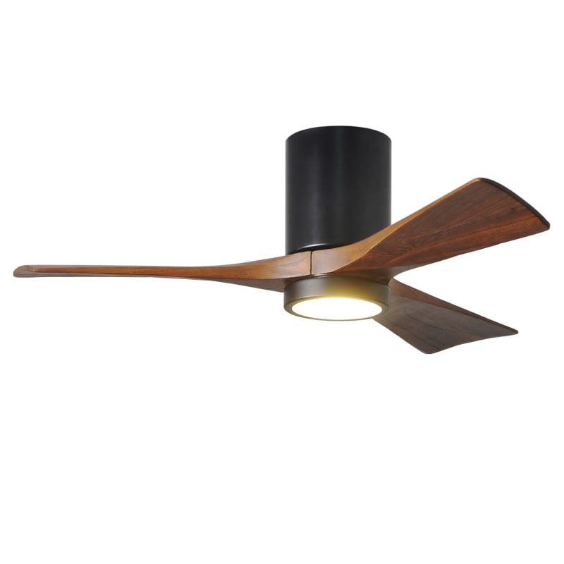 Matthews Fan Company Ir3hlk 42 In 2020 Hugger Ceiling Fan Ceiling Fan Black Ceiling Fan
