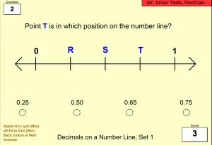 juegos para comprender los numeros decimales