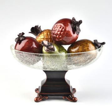 Fruit Glass Bowl Set  Looks like grandmother's fruit bowl.