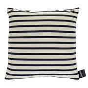 Jean Paul Gaultier - Petit Marin Cushion - Ecru Bleu - 40x40cm - amara.co.uk