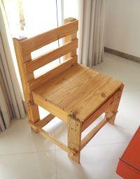 Mesa De Pallet Montando Uma Casa Inteira Com Palete Cadeiras De