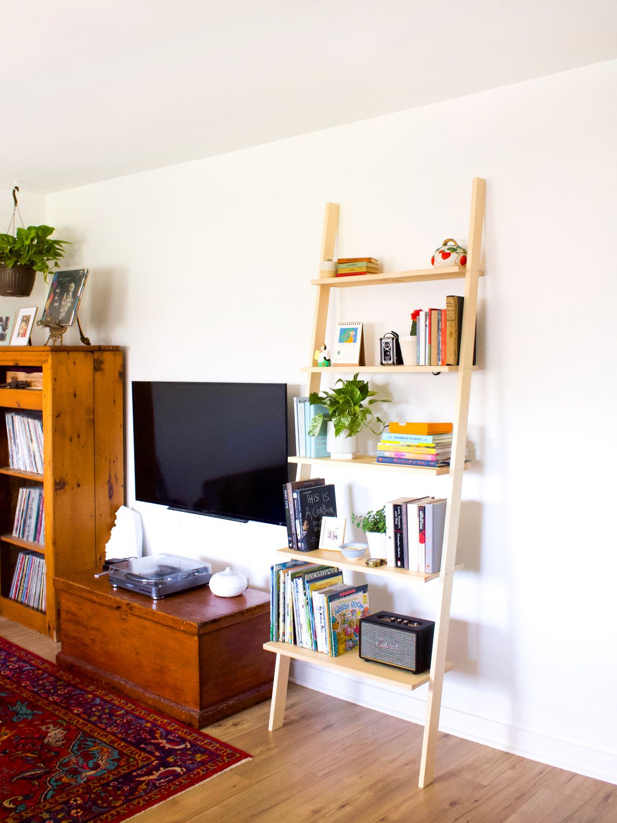 How to Build a DIY Leaning Bookshelf Fish & Bull in 2020