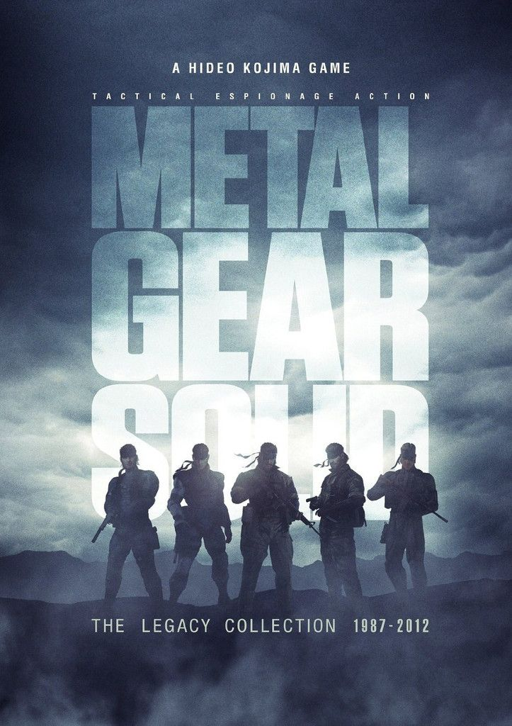 Image result for metal gear solid legacy collection poster